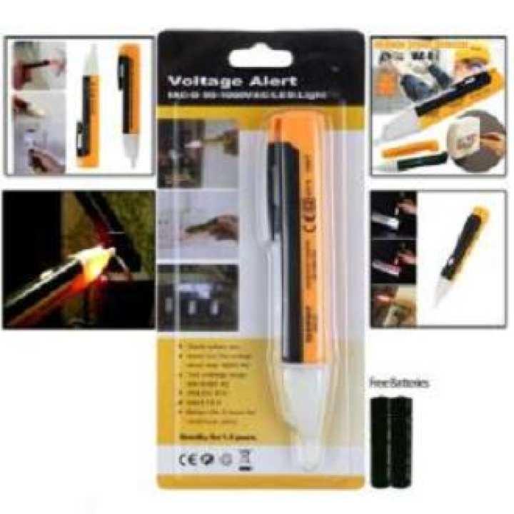 Voltage Alert Tester Device 90-1000V Pen Detector Sensor with Batteries