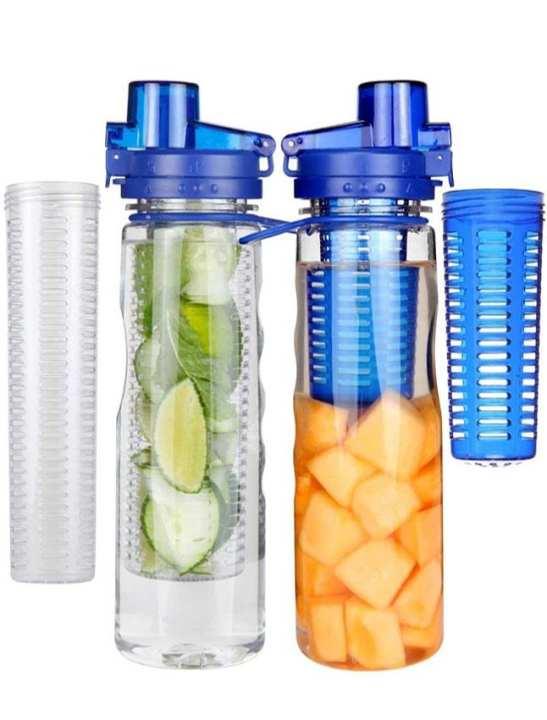 Quality Detox Water Bottle - Multicolor