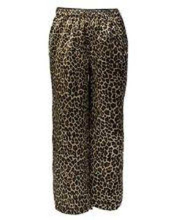 Multicolour Polyester Cheeta Printed Pajamas For Girls - GP 05