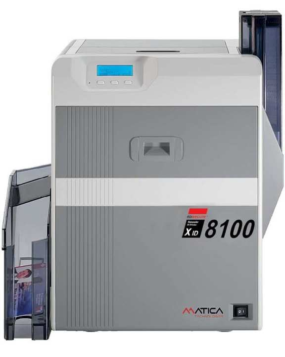 Xid 8100 Pvc Card Printer - Grey