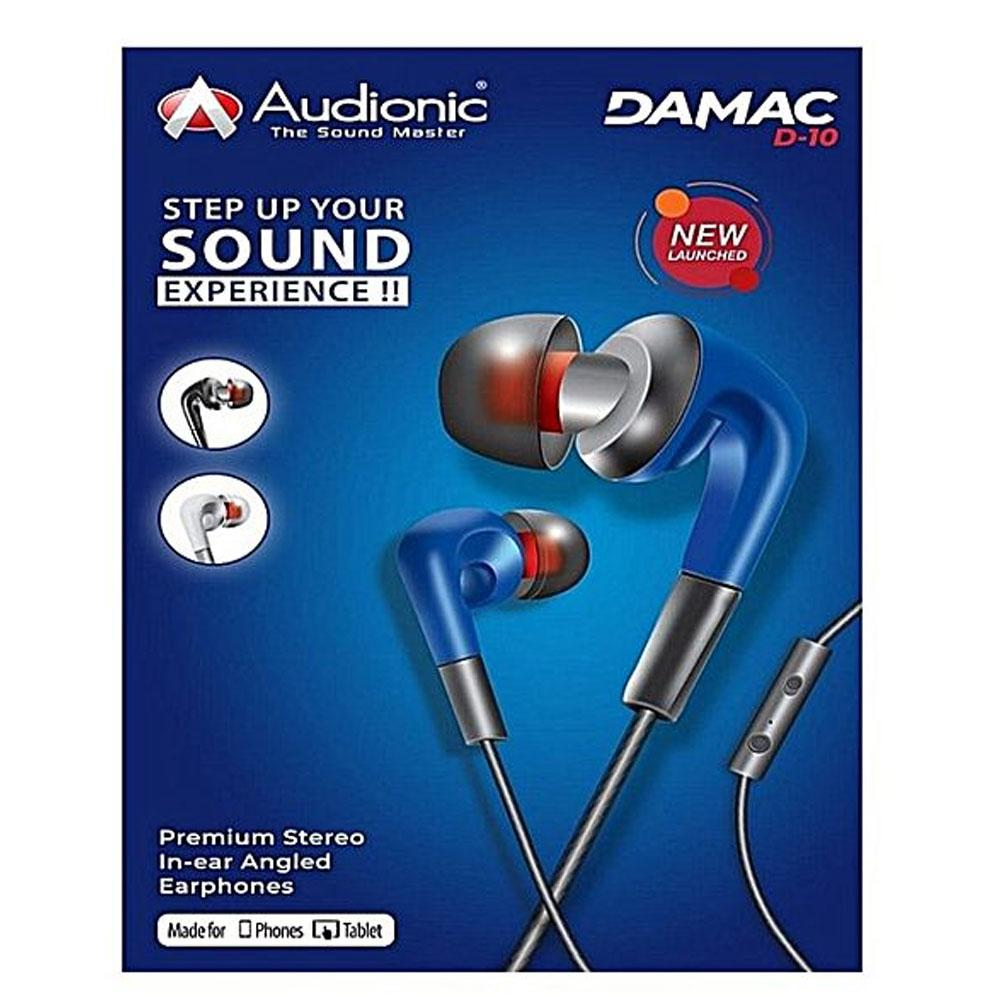 High Quality Earphone DAMAC D10 Sound Experience for Mobiles