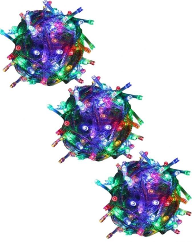 RizClick Combo of 3 - Fairy Lights - Multicolor
