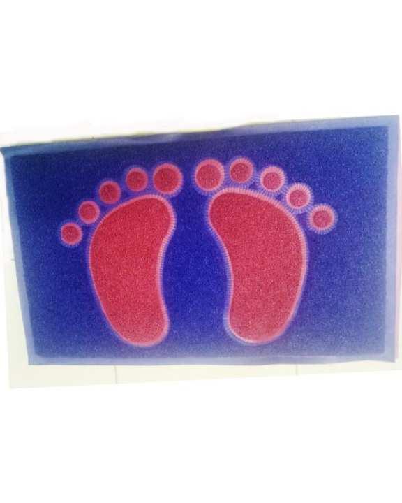 Footstep Luxury Bath Mat / Floor Mat Spa Tub-Shower Mat - Blue
