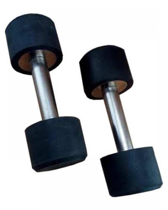 Pair of 3kg Dumbbells - Black