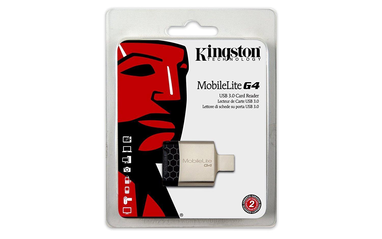 Kingston Digital MobileLite - G4 USB 3.0 Multi-Function Card Reader