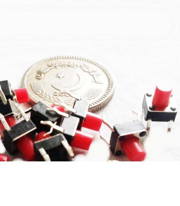 10Pcs Momentary Tactile Push Button Switch Spst Miniature