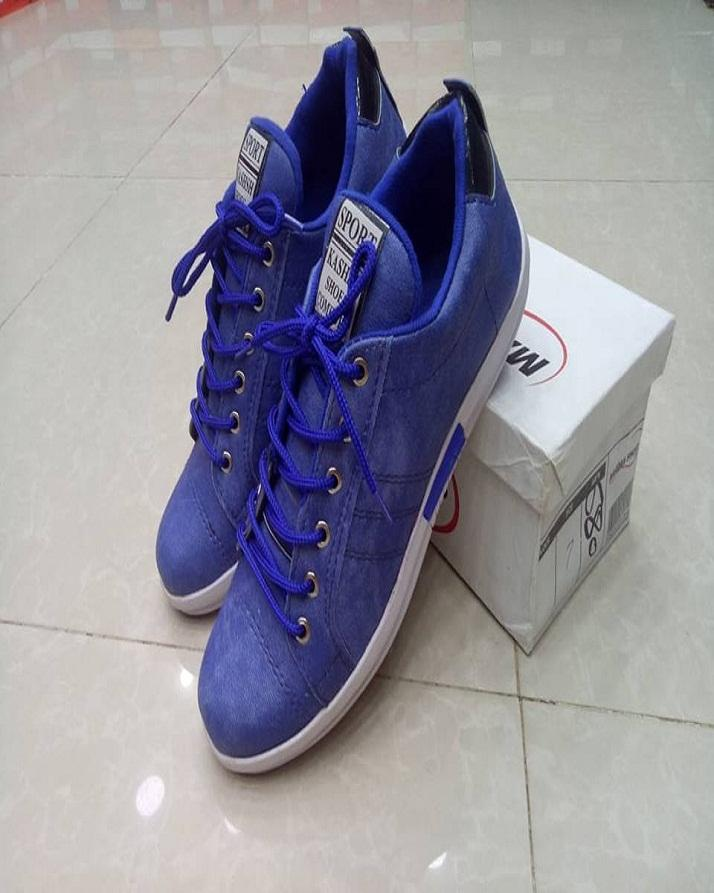 6a07841d333bb Blue Lifestyle Sneaker Shoes For Men