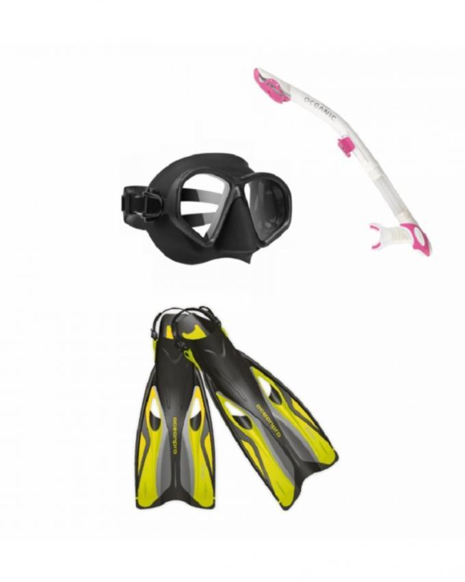 Oceanic Scuba Gear - The Baby Snorkeler Set 2