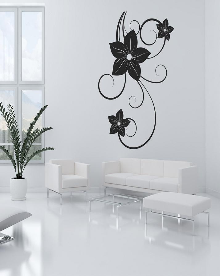 floral wall sticker: buy online at best prices in pakistan   daraz.pk