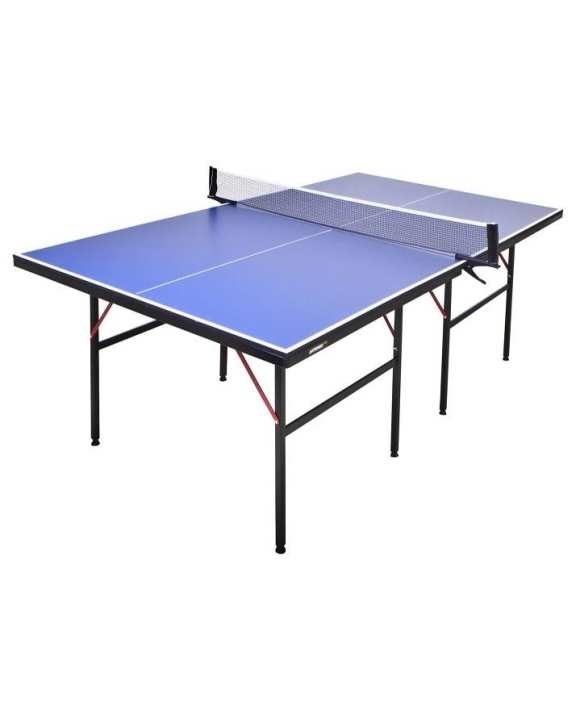 Imported Foldable Table Tennis Table Set 15mm  - Blue