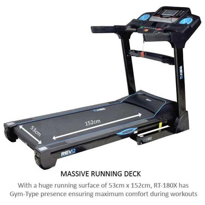 Semi Commercial AC Treadmill - RT180X - with Warranty