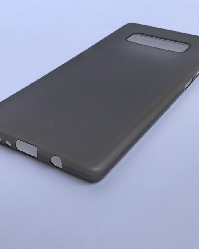 Galaxy Note 8 Ultra Light thin cover - Translucent/ Grey