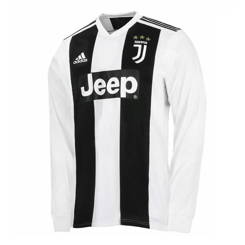 a995fd8c1 Juventus Home Shirt Full Sleeves 2018 19 Season - Ronaldo