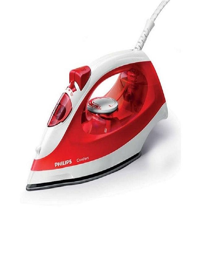 Philips GC1426 - Steam Iron with non-stick soleplate - 1400W - Red