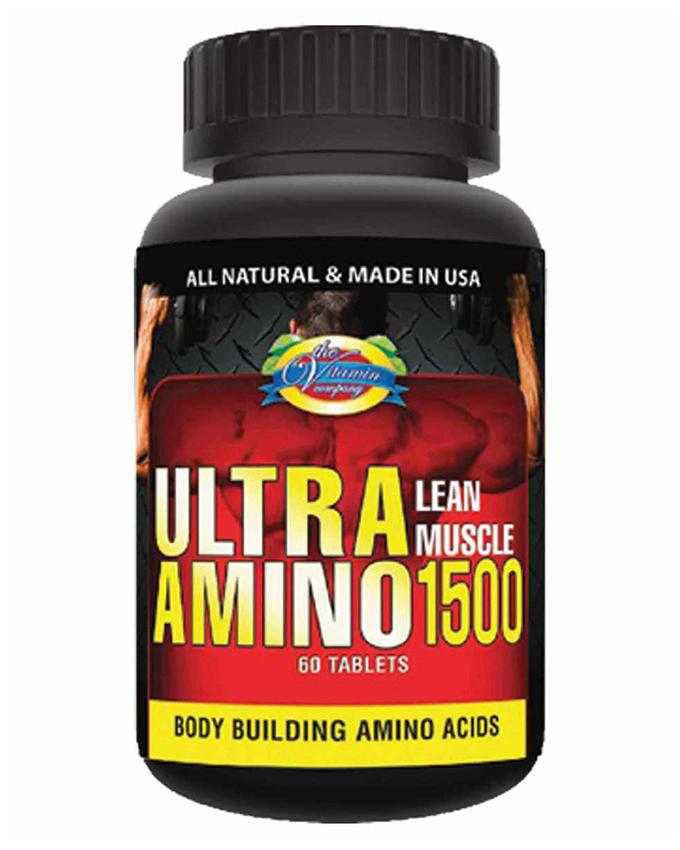 eff8ac6934e Ultra Amino - American Natural Supplement for Lean Muscles - 60 Tablets
