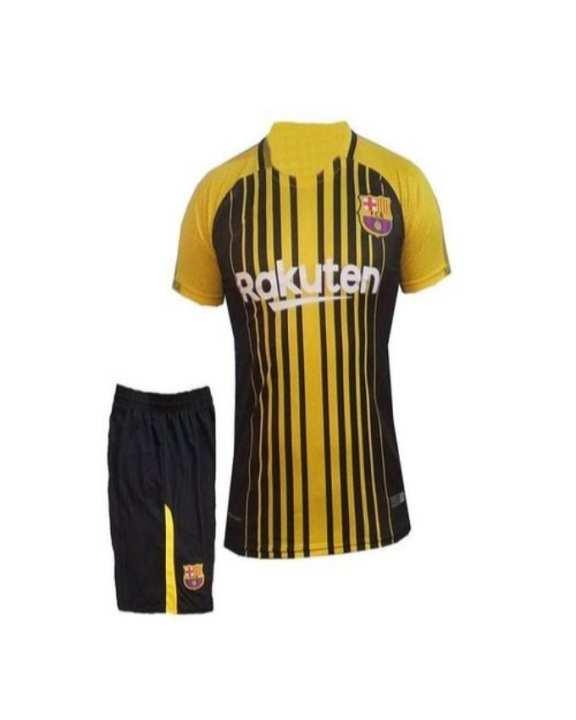 FC Barcelona Football Kit - Black & Yellow