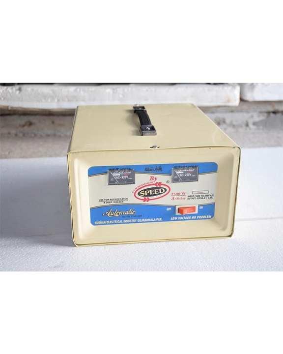SPEED STABILIZER - 4000 WATTS - High Power - Copper Wire Stabilizer
