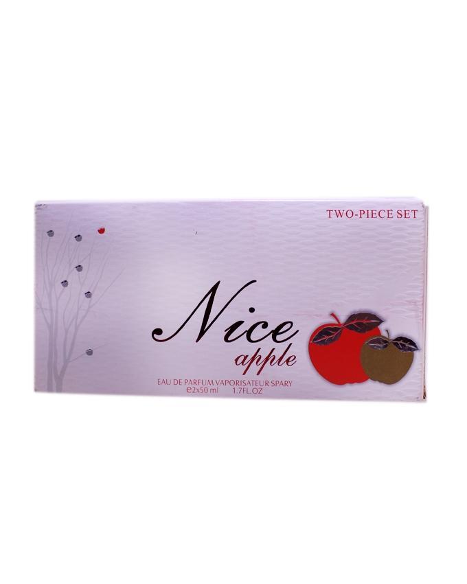 Pair of Nice Apple Perfume for Girls - 50 ml Each