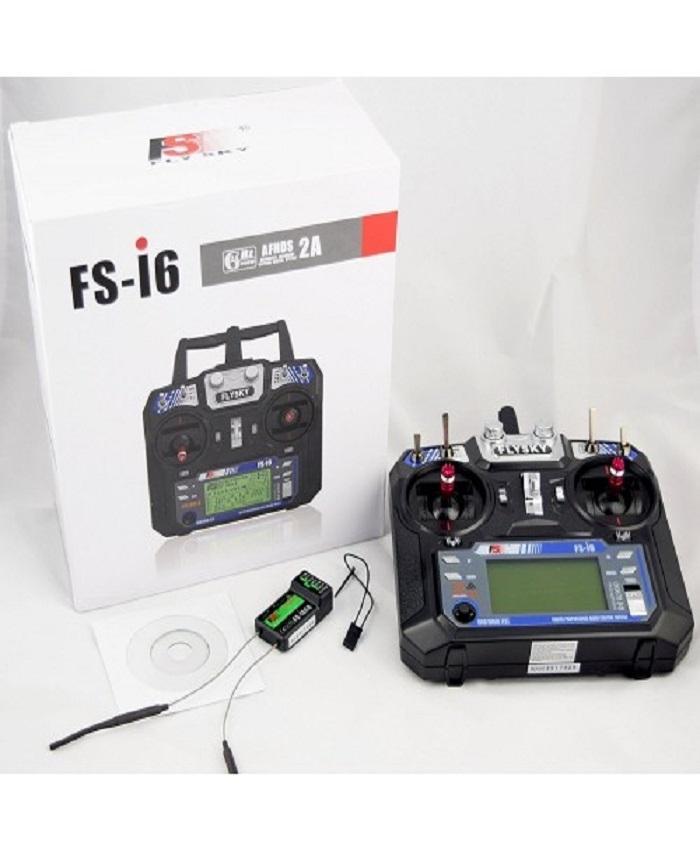 FlySky FS-i6 2.4G 6CH RC Transmitter With FS-iA6B Receiver