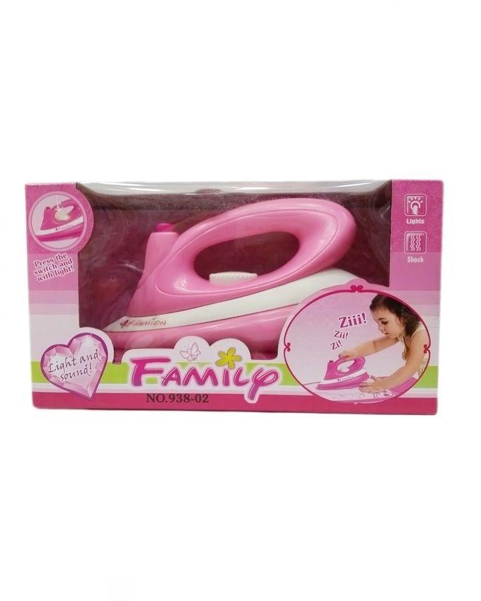 Family Iron Toy - Pink