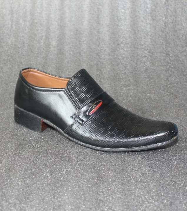 Black Casual Slip On Shoes For Men