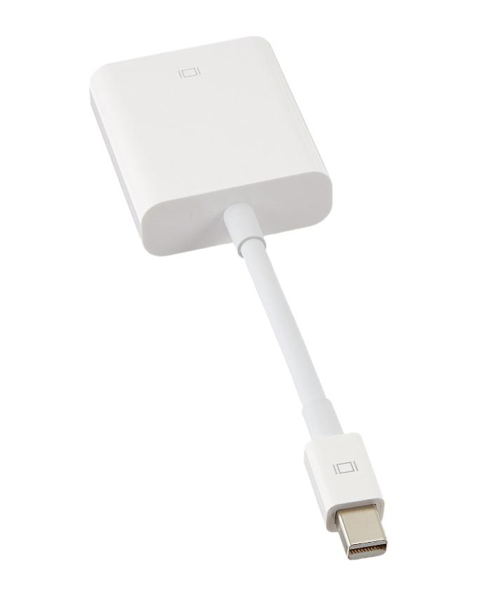 Apple Mini Display Port to DVI Adapter - White