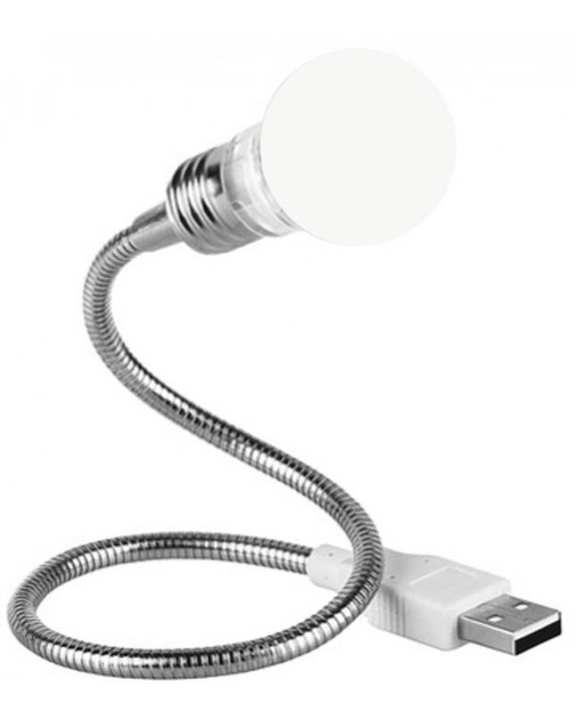 Usb Powered Led Night Bulb - White