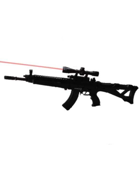 Pubg M16A4 Toy Rifle Gun With Laser