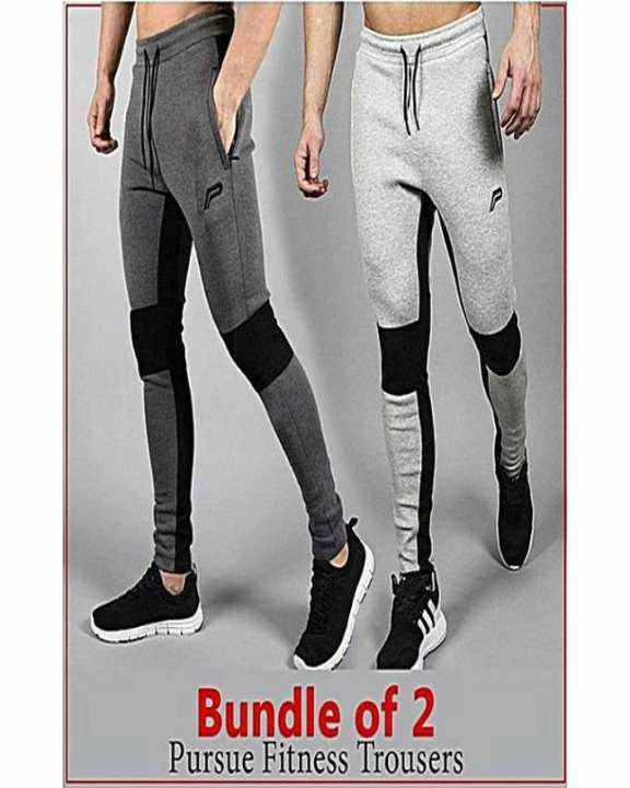 Bundle Of 2 Slim Fitness Trousers