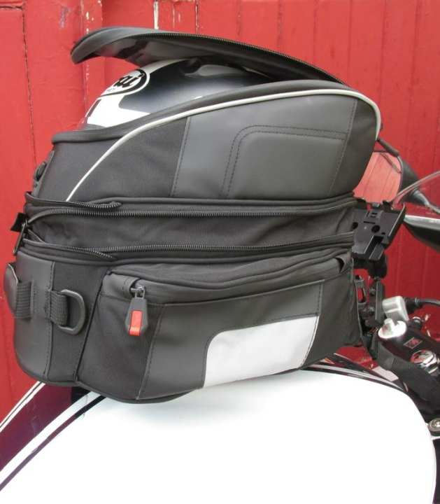 Bikers Motorcycle Tank Magnet Touring Backpack Student Bag