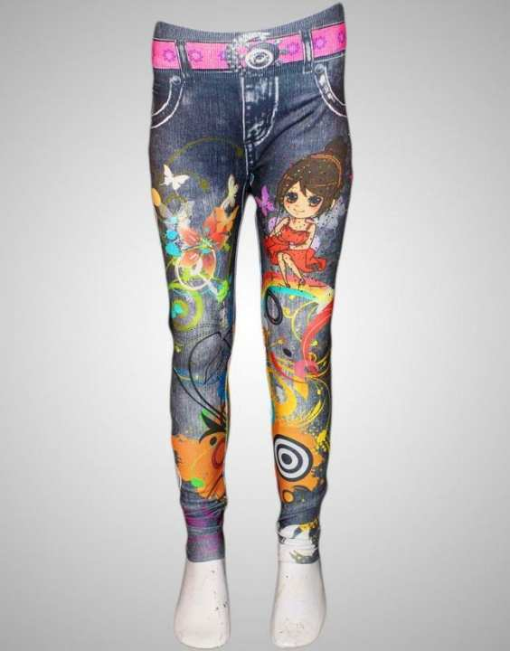 Imported Printed Tights