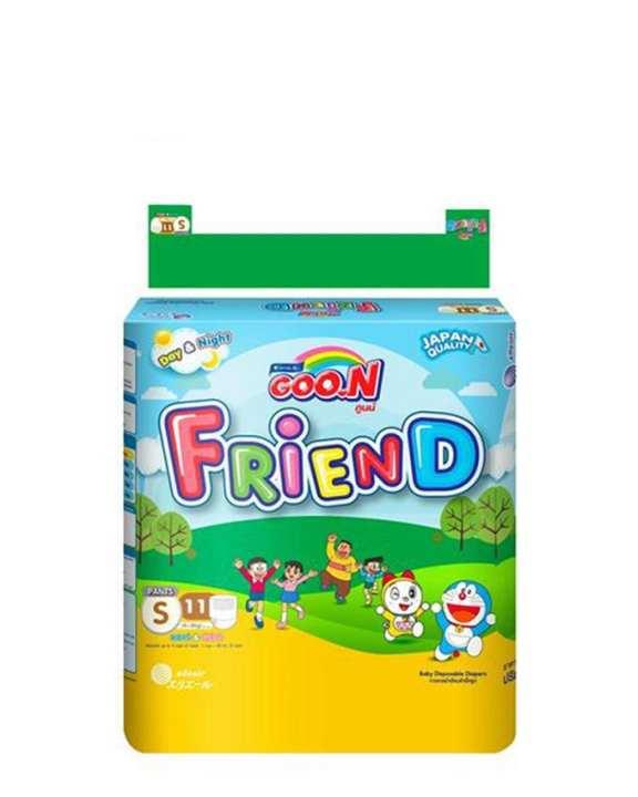 Regular Friend Doraemon Pants (Size 2 / Small / 4-8 KG / 11 Pcs)