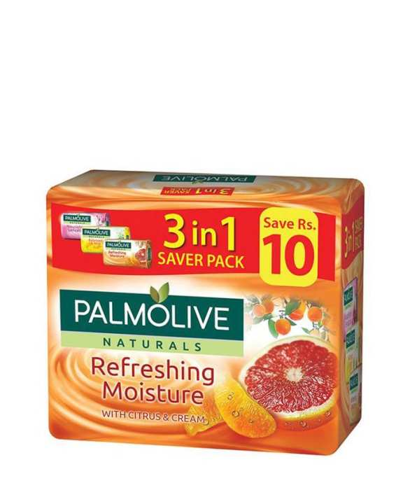 Palmolive Soap 3 In 1 Saver Pack (115Gx3)