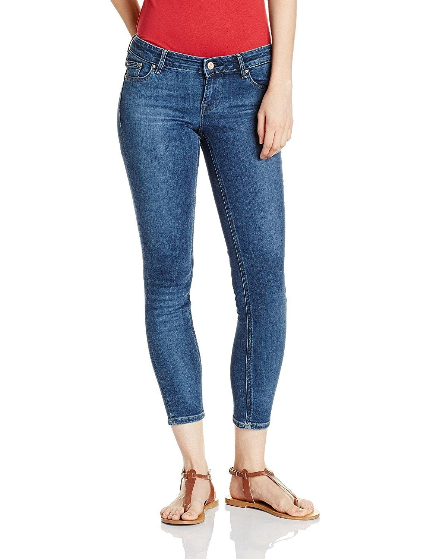 c937fc737276 Medium Blue Slim Fit Jeans For Women