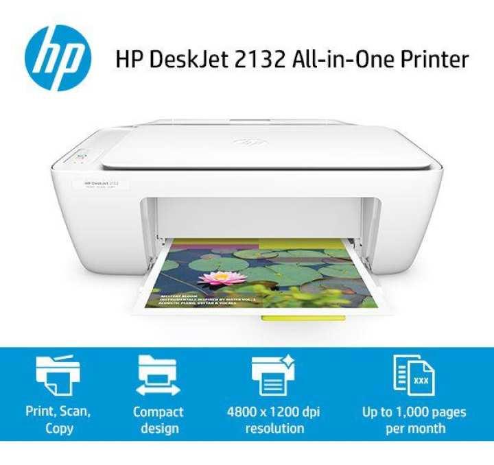 HP  2132 DeskJet - All-in-One - Printer - White