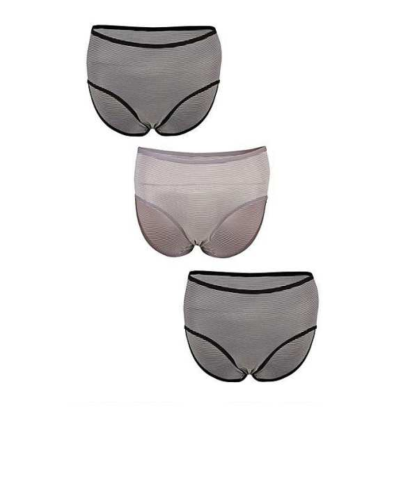 Pack of 3 Grey Cotton Inner Brief for Men