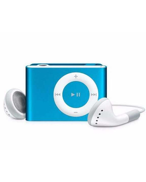 Shuffle MP3 Player with 8GB Memory Card - Blue