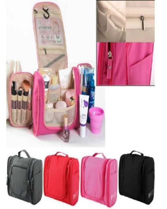 Cosmetic and Toiletry Travel Bag - multi