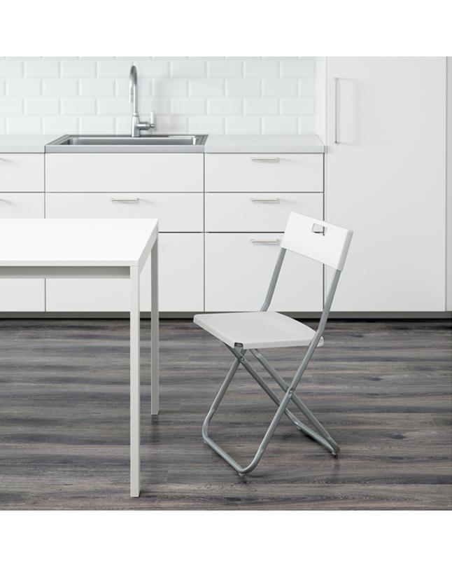 IKEA Foldable Chair   White