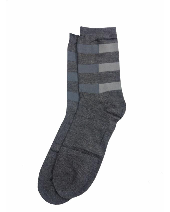 Pack of 2 - Grey Cotton Socks for Men
