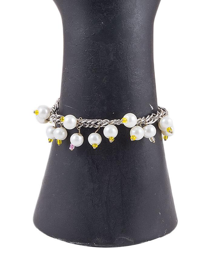 Multi Color Metal Hand Made Bracelet for Women - RIZ-BRC-44