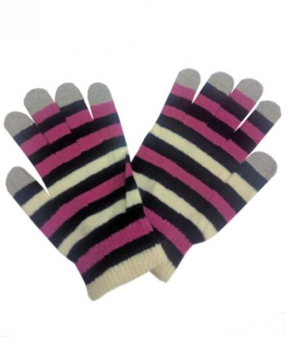 Multi Color Wool Gloves for Smart Phone User