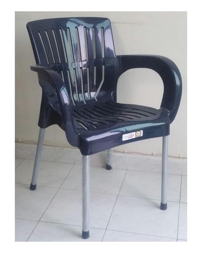 Relaxo Plastic Chair Navy Blue Buy Online At Best Prices In