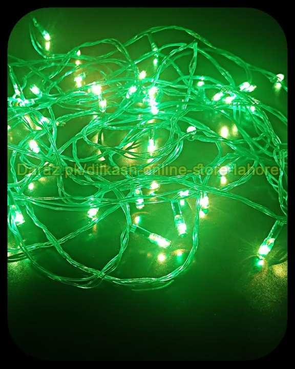 Fairy LED Light String Decoration Light Led Still - 25 Feet Long - Green