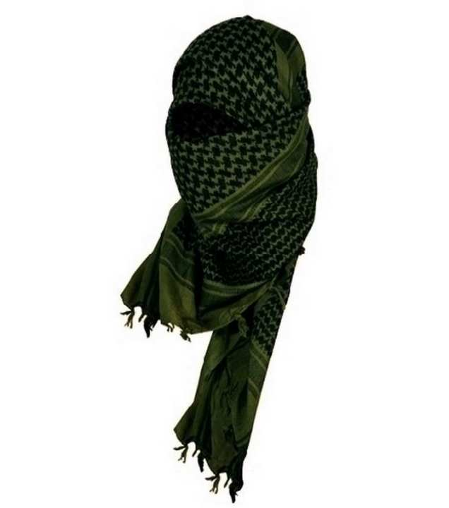 "Military Scarf, ""The Tactical Shop"" special collection"