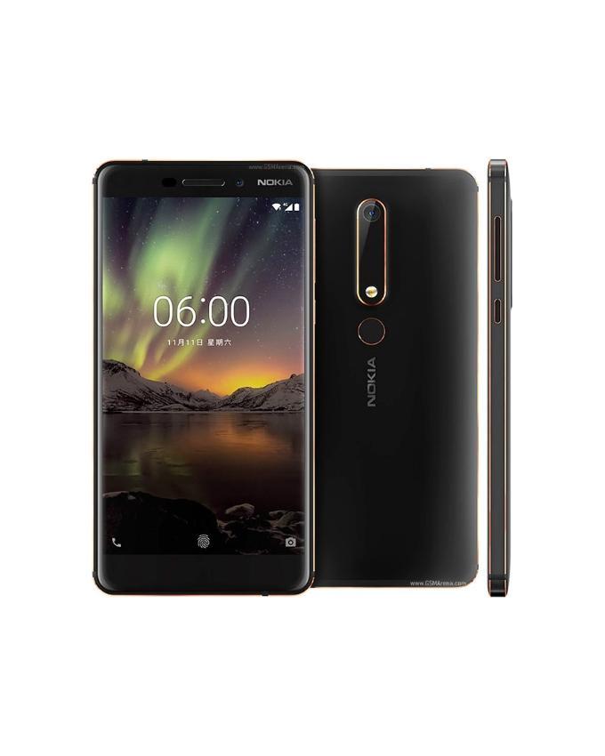 Nokia 6.1 4GB-64GB - 5.5 Inches - Black c80347e28f