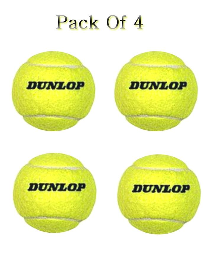 Pack Of 4 Dunlop Original Cricket Tennis Balls Buy Online At Best