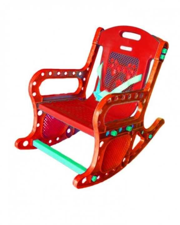 Stinnos - Rocking Chair for Kids - Red