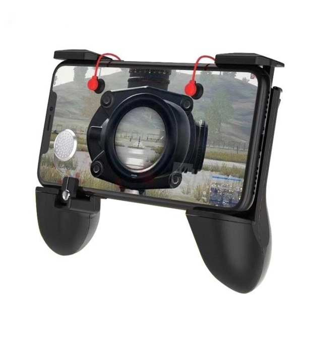 Pubg All In One Trigger Fire Button Aim Key L1,R1+Grip For Holding Durability+Joystick