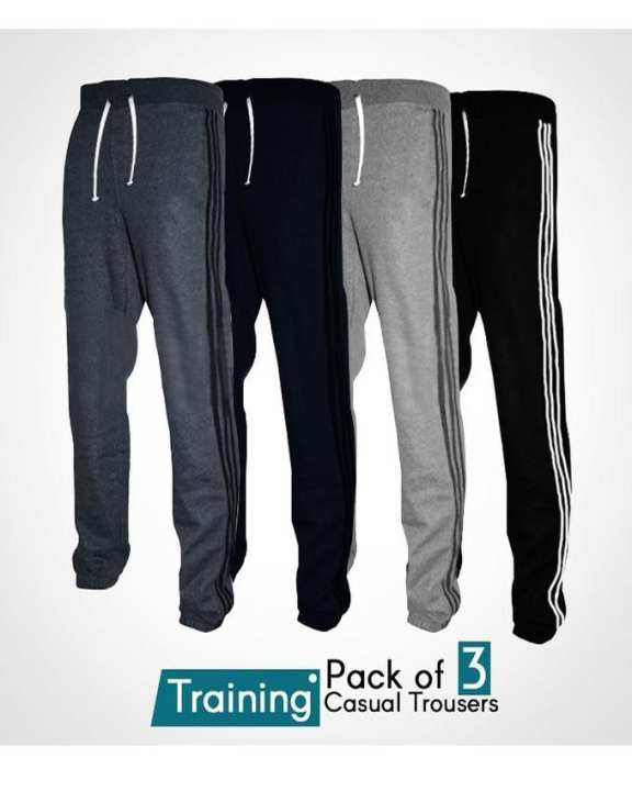 Pack of 3 - Training Casual Trousers